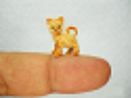 Amigurumi miniaturas - Gato