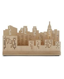 Archiva Papeles Skyline de Nueva York
