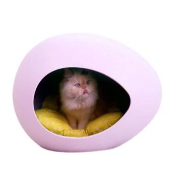 Cama de Gato huevo lila