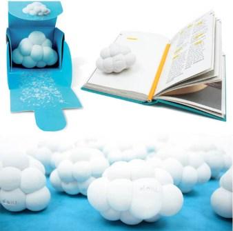 Goma de borrar con forma de nube