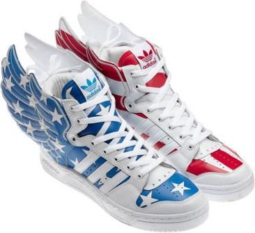 Jeremy Scott - Adidas con Alas yankees