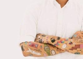 ¿Te atreves con estos Tatuajes Temporales para adultos?