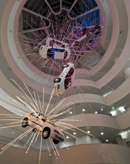 Instalaciones Artísticas - Cai Guo-Qiang en el Museo Guggenheim de Bilbao