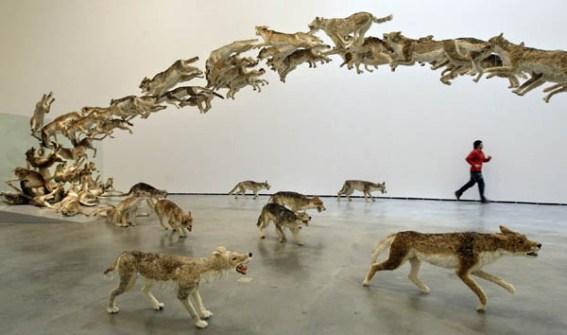 Instalaciones Artísticas - Cai Guo-Qiang y Olafur Eliasson