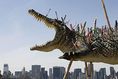 Instalaciones Artísticas - Cai Guo-Qiang en el Museo Metropolitano de Nueva York