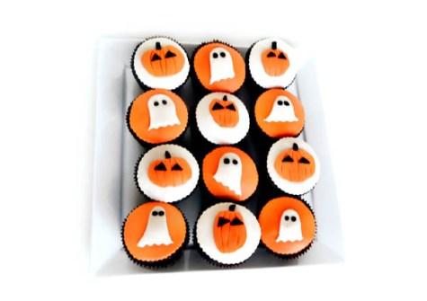 Cupcakes para Halloween divertidas