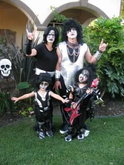 Disfraces originales y fáciles de última hora - Disfraz Grupal Grupo Kiss