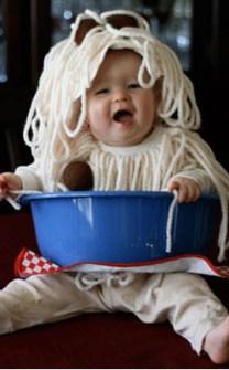 Disfraces originales para bebés - Disfraz Espaguetti