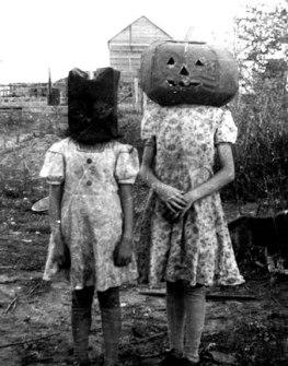 Disfraces de Halloween Antiguos