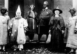 Disfraces de Halloween Antiguos que daban realmente miedo.