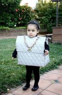 Disfraces infantiles originales - Disfraz de bolso fashion