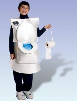 Disfraces originales y fáciles de última hora -  Disfraz WC