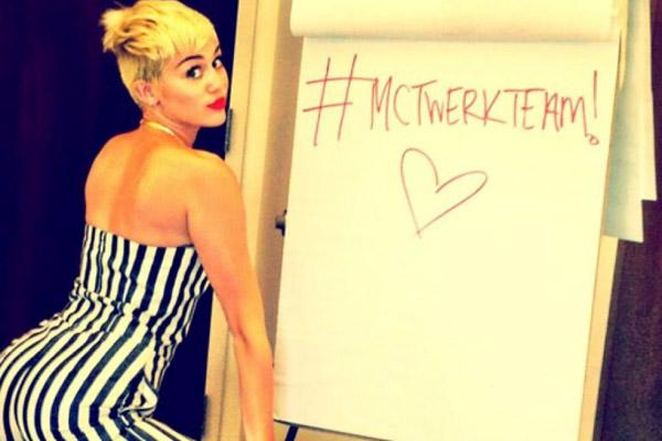 Miley Cyrus Twerking