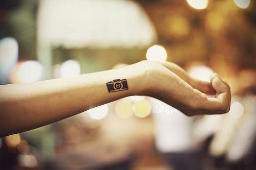 Mini Tatuajes Cámara de Fotos