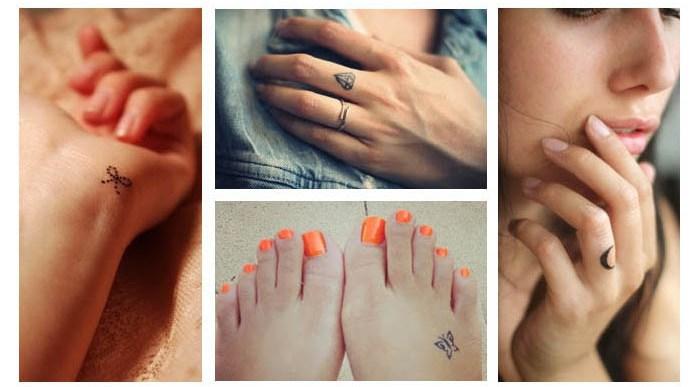 Mini Tatuajes para Chicas, Discretos y Atemporales.