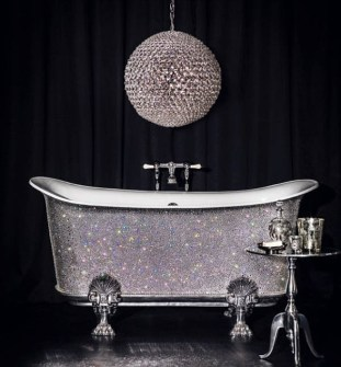 Bañera  con Cristales de Swarovski