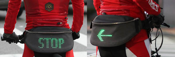 Backpack LED para Ciclistas