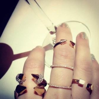 Punk Midi Rings