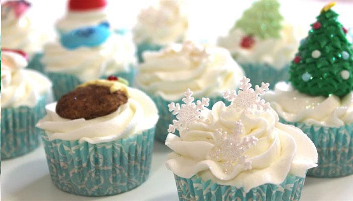 Christmas Cupcakes - Cómo decorar cupcakes para Navidad