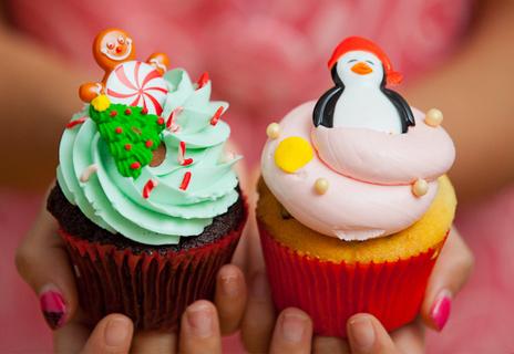 Christmas Cupcakes - Divertidas cupcakes para Navidad