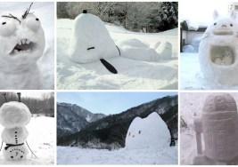 33 Muñecos de Nieve Divertidos, muy, muy Cool.