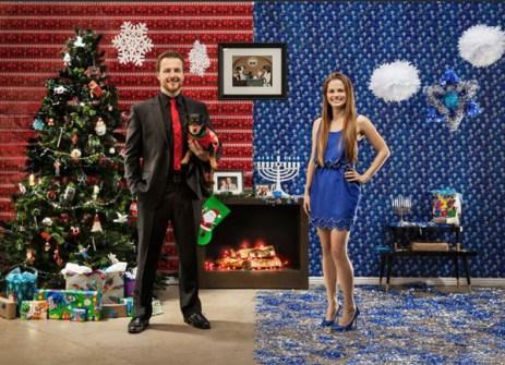 Ideas divertidas para la Felicitación de Navidad - Felicitaciones de Navidad Glamourosas