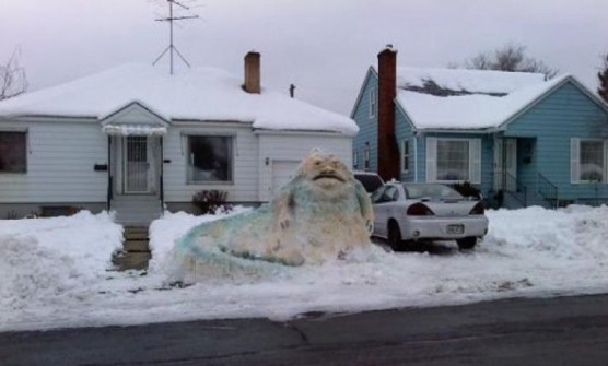 Muñecos de Nieve Divertidos y Originales - Jabba