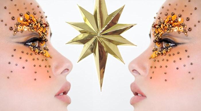 Arriesga con Maquillaje de Fiesta en Navidad.