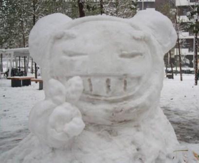 Muñecos de Nieve Divertidos y Originales - Pucca