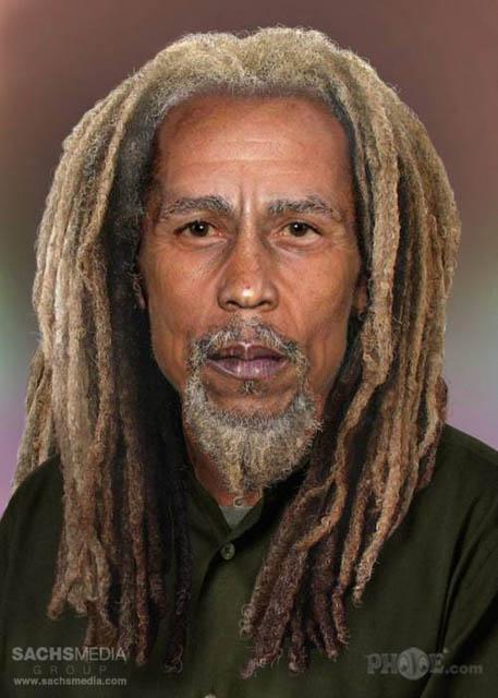 Leyendas del Rock si vivieran hoy - Bob Marley