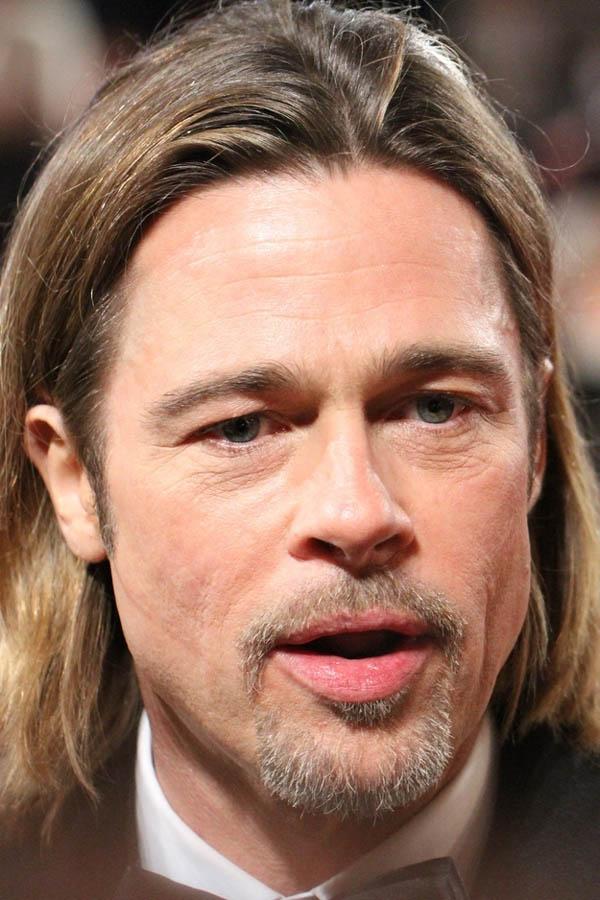 Brad Pitt ya ha cumplido 50 años.