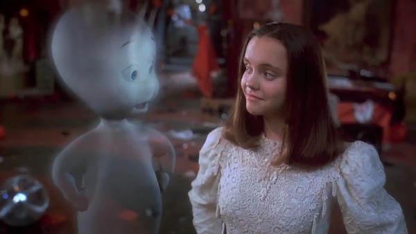 Casper y Christina Ricci hace casi 20 años