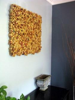 15 Creaciones propias para tus Paredes - Decora tus paredes con corchos de botellas de vino