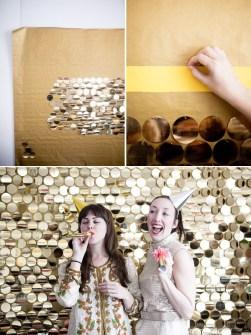 15 Creaciones propias para tus Paredes - Cubre tus paredes con Lentejuelas para fiestas