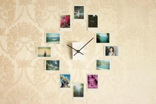 15 Creaciones propias para tus Paredes - Crea un Reloj de Pared con fotos de Instagram