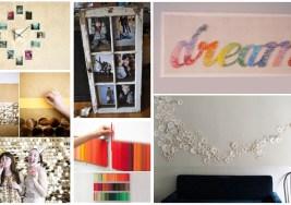 15 Creaciones propias para tus Paredes.