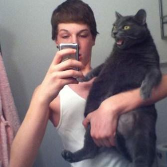 Hacerse un Selfie con Mascota