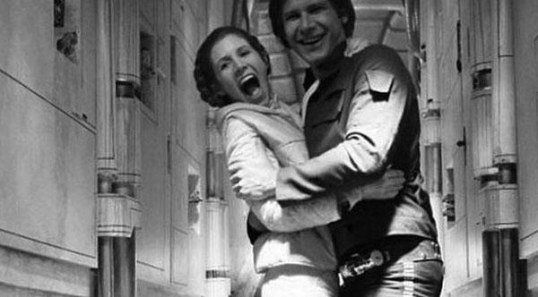 Fotos inéditas de Star Wars - Risas con Han Solo