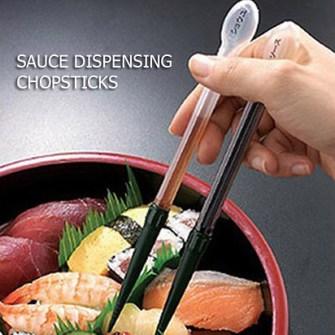 15 Inventos Extraordinarios para tu Casa - Palillos dispensador de Sushi.