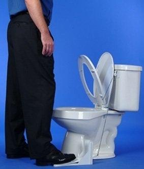 15 Inventos Extraordinarios para tu Casa - Pedal de tapa para el inodoro.