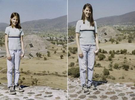 Haz la Comparativa. Repite tus Fotos de la Niñez.