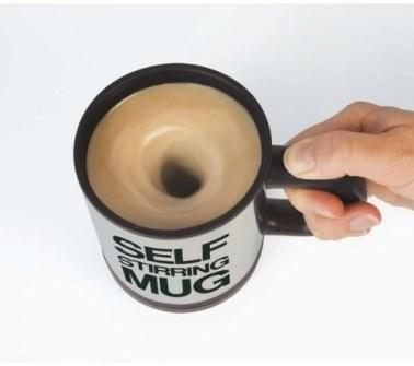 15 Inventos Extraordinarios para tu Casa - Taza remueve café.