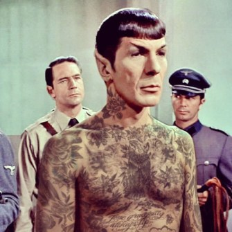 Tus Mitos Tatuados - Comandante Spock
