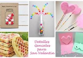 18 Detalles Geniales para San Valentín.