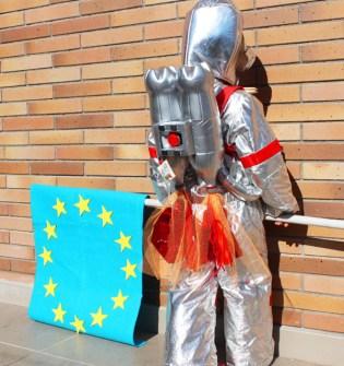 Disfraces Fáciles y Originales para Carnaval - Astronauta