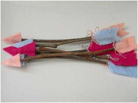 Detalles Geniales para San Valentín - Flechas de Cupido DIY