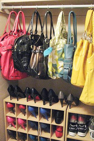 Trucos Caseros - Cómo ordenar todos los bolsos