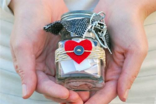 Regalos DIY para San Valentín - Regálale una lista de las cosas que más te gustan de él