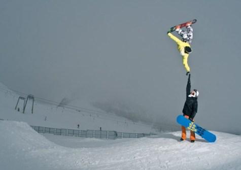 Fotos Increíbles en el Momento Justo - Tyler Chorlton en una acrobacia