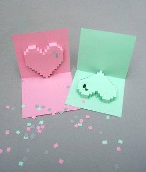 Detalles Geniales para San Valentín - Tarjetas DIY para San Valentín